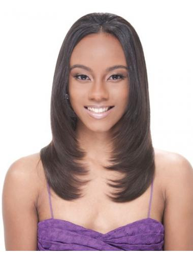 Wigs For Black Women With Round Faces Long Brown Straight